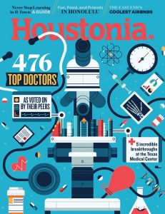 Houstonia August 2019 cover